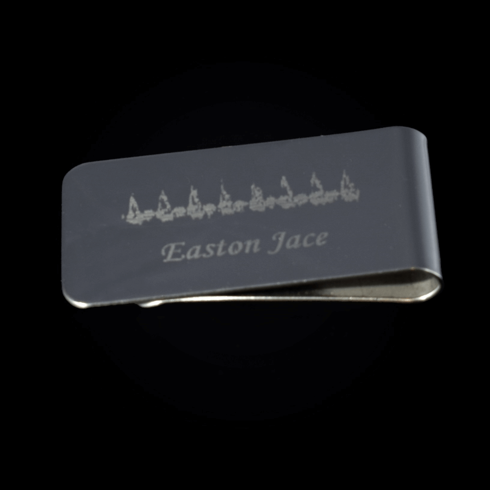 Heartbeat Moneyclip
